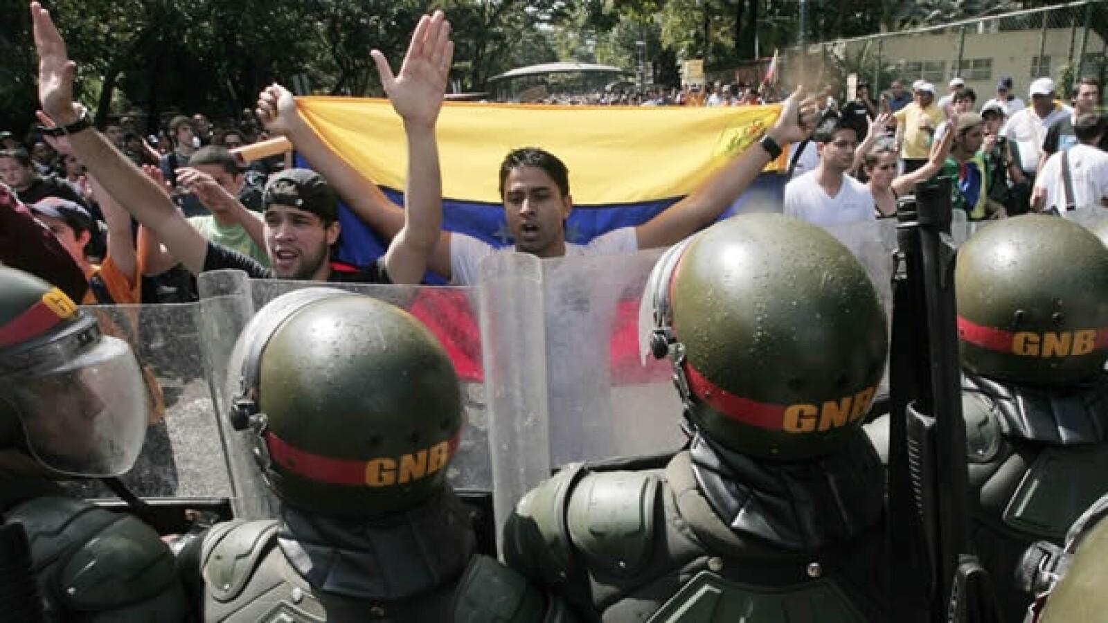 Venezuela - marcha estudiantil