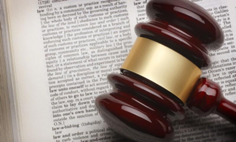 El fondo está compuesto por las consignaciones que hace la gente en el Tribunal Superior. (Foto: Getty Images )