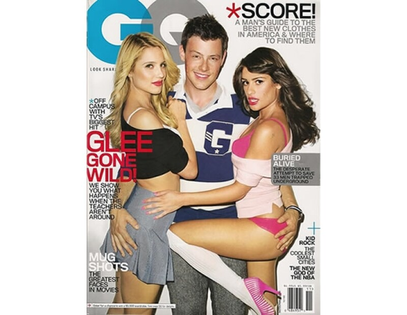 Después de considerarlos íconos pop, esta portada de Terry Richardson, reveló la otra cara del elenco de Glee.