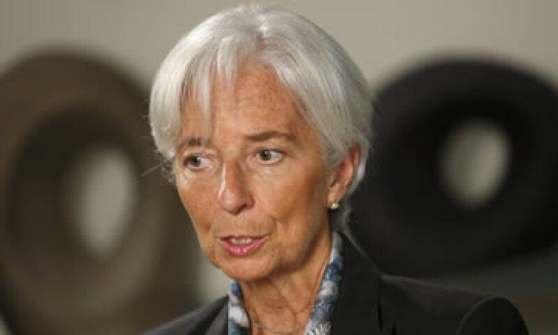 Lagarde dijo que el organismo respeta a los gobiernos debidamente elegidos. (Foto: Reuters )
