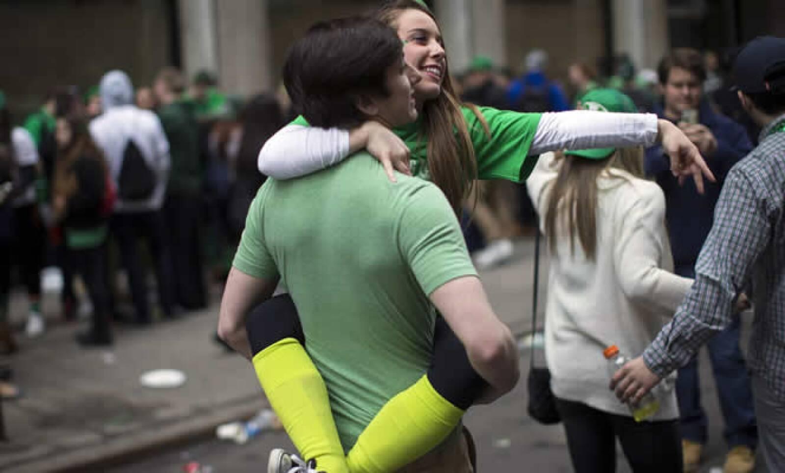 El patrono de Irlanda es celebrado por las comunidades de ese país de todo el planeta, como en Nueva York, donde se celebró el desfile 254.