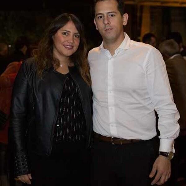 Pamela Meade y Miguel López