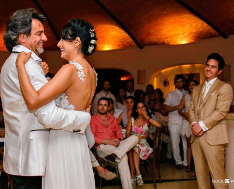 """Alessandra Rosaldo, esposa del comediante, confesó que para él ha sido un proceso difícil el aceptar ver volar a su """"nenita"""""""