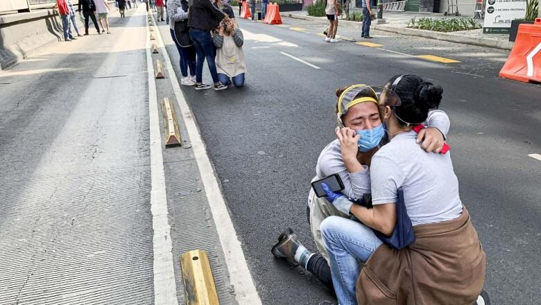 An earthquake in Mexico City