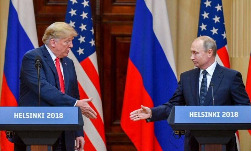Trump Putin Reunión Finlandia