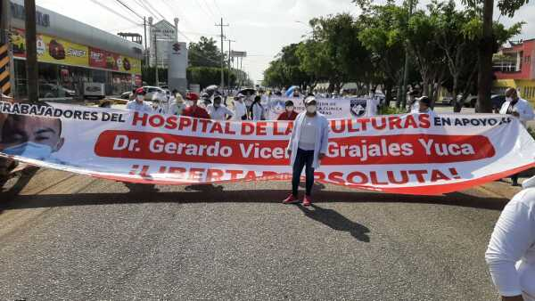 Protestas Grajales
