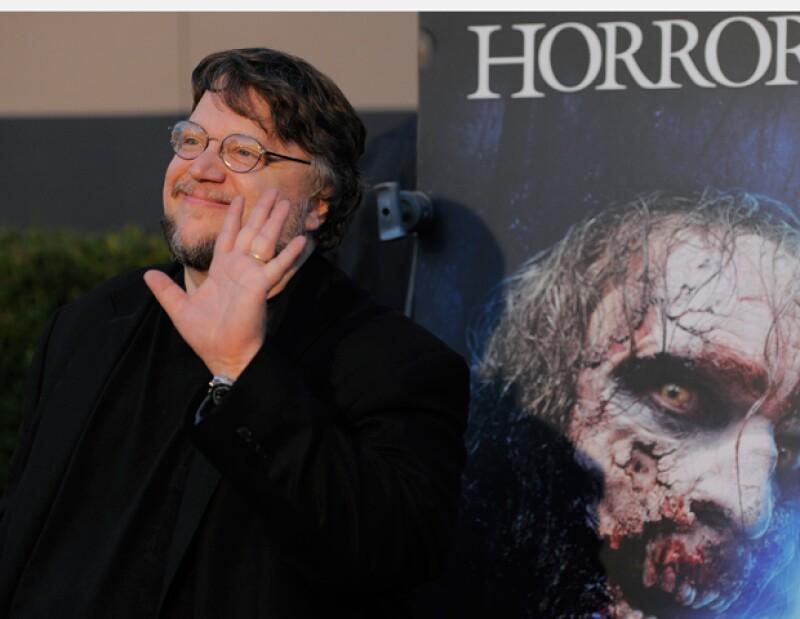 El realizador mexicano fue galardonado con el premio Eyegore, en un acto celebrado en los Universal Studios de Hollywood.