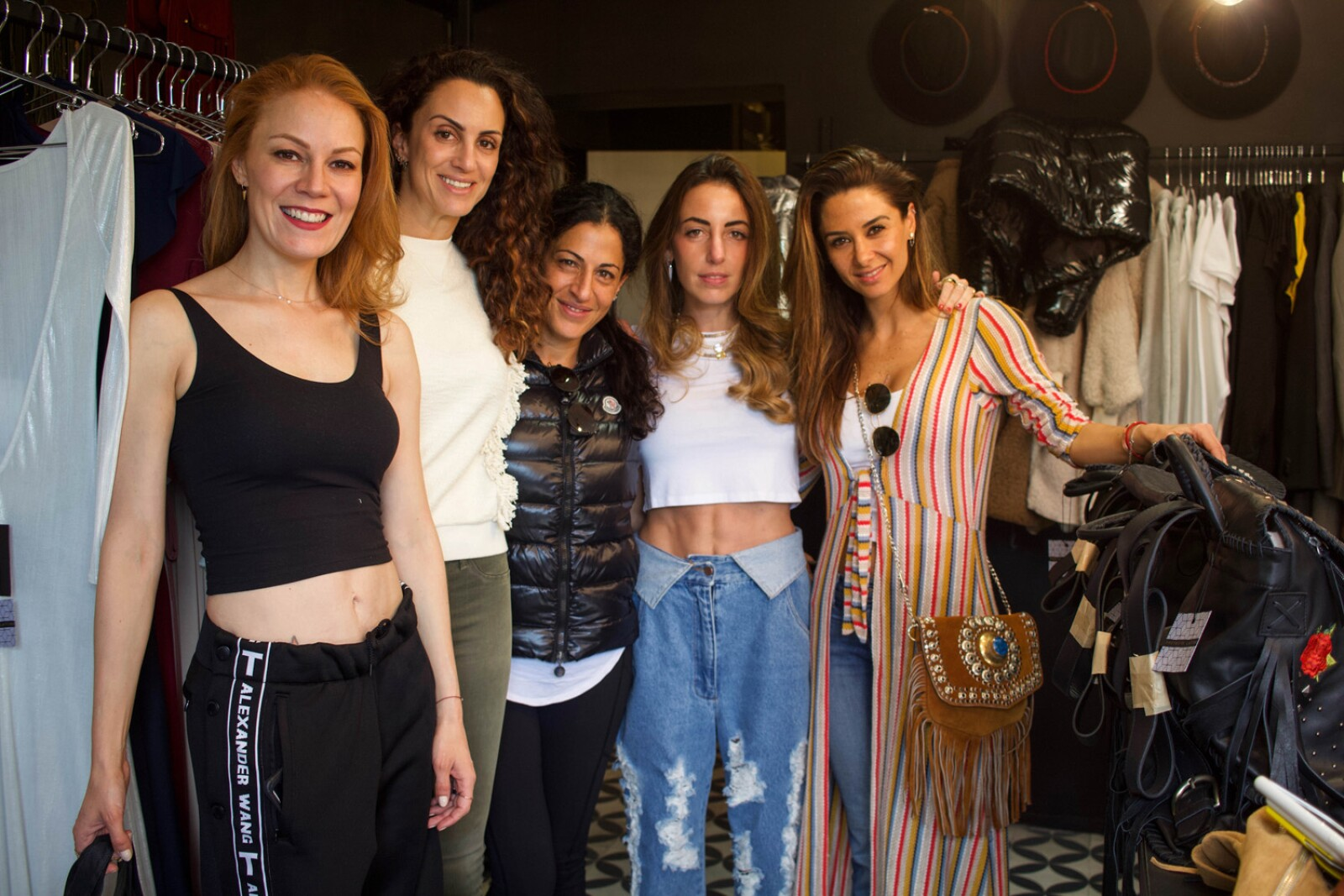 Daniela Magun, Estrella Jafif, Becky Cohen, Vanessa Atti y Celia Abadi.jpg