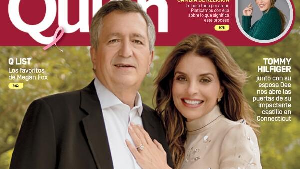 Jorge Vergara y Rossana Lerdo de Tejada