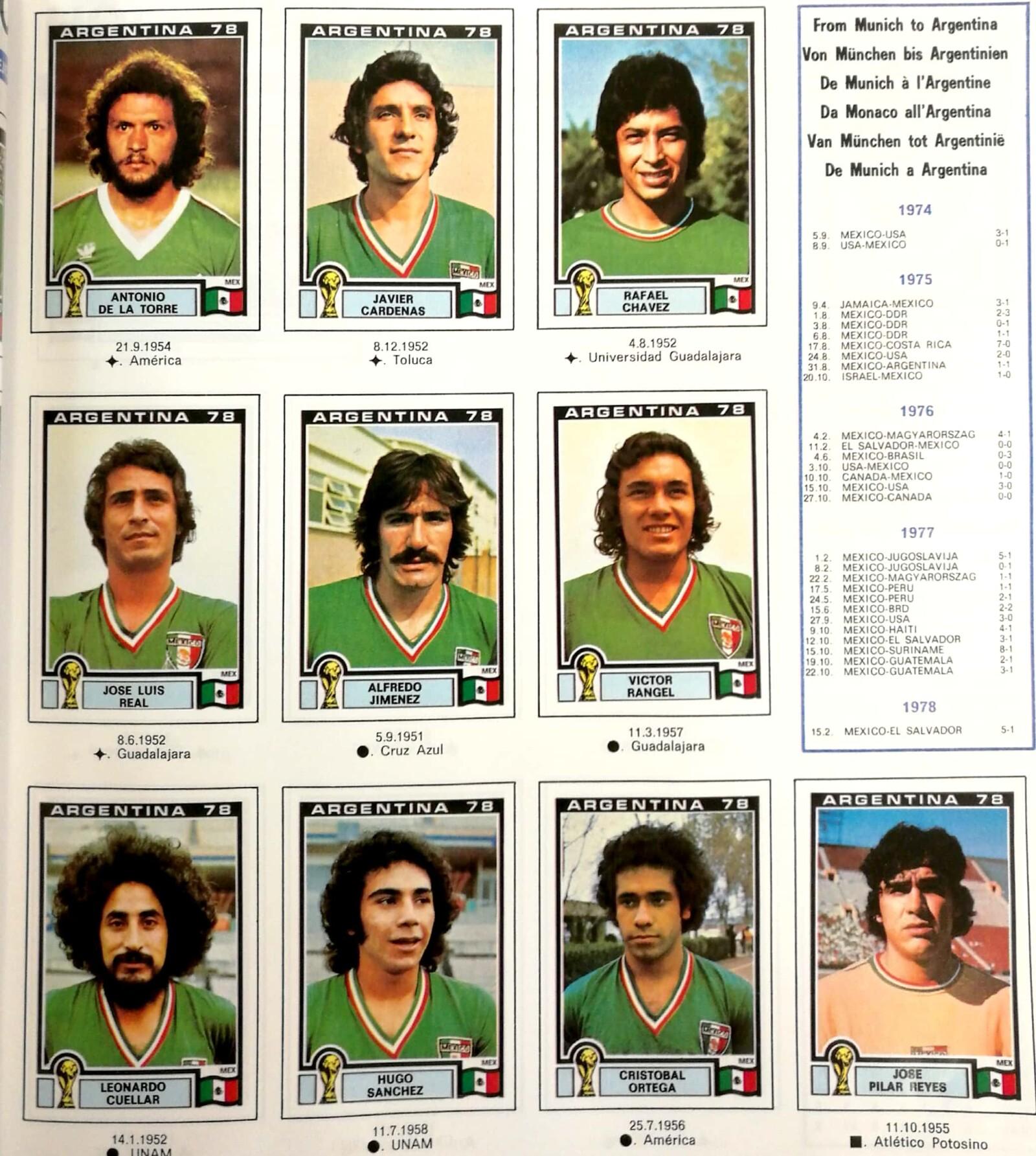 álbum Panini Argentina 1978