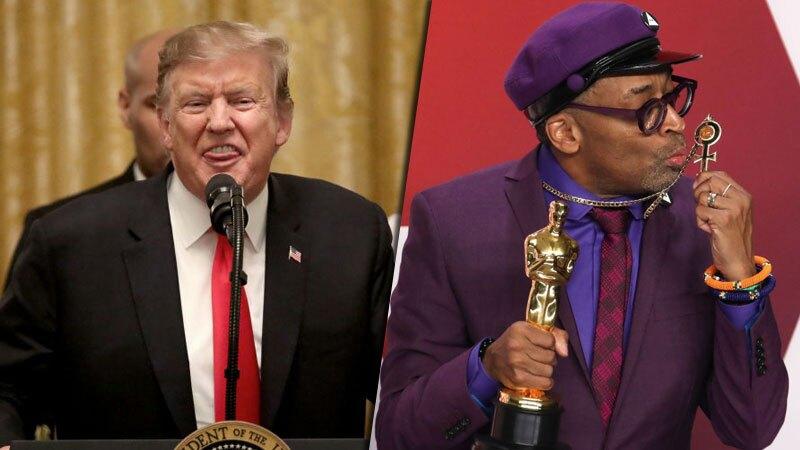 Donald Trump y Spike Lee