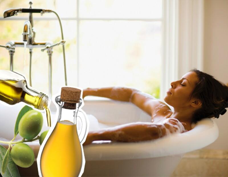 El baño con aceite de oliva ayudará a que tu sistema inmunológico se fortalezca.