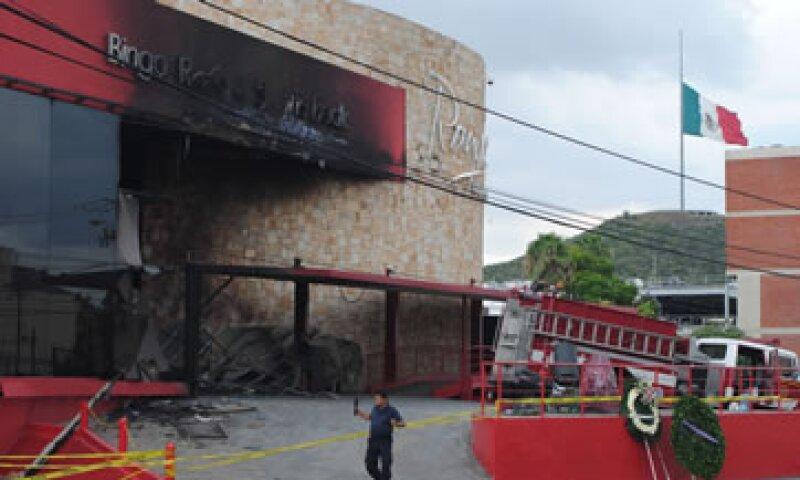 El CCE solicitó unidad tras los ataques al casino Royale en Monterrey. (Foto: Notimex)