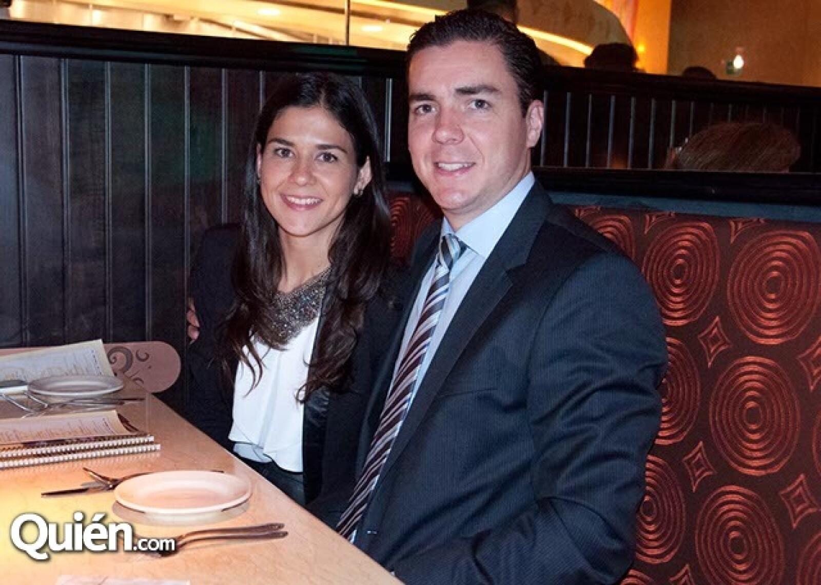 Vanessa Arouca y Juan Carlos Sánchez Costes