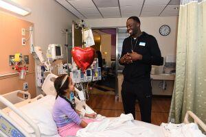 Draymond Green Children Hospital Los Angeles