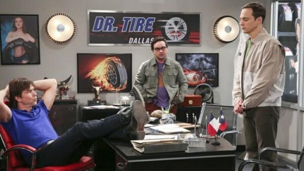 El encuentro entre George y Sheldon.