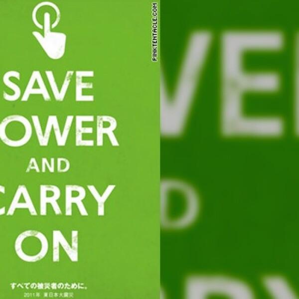 japón ahorro energético poster 04
