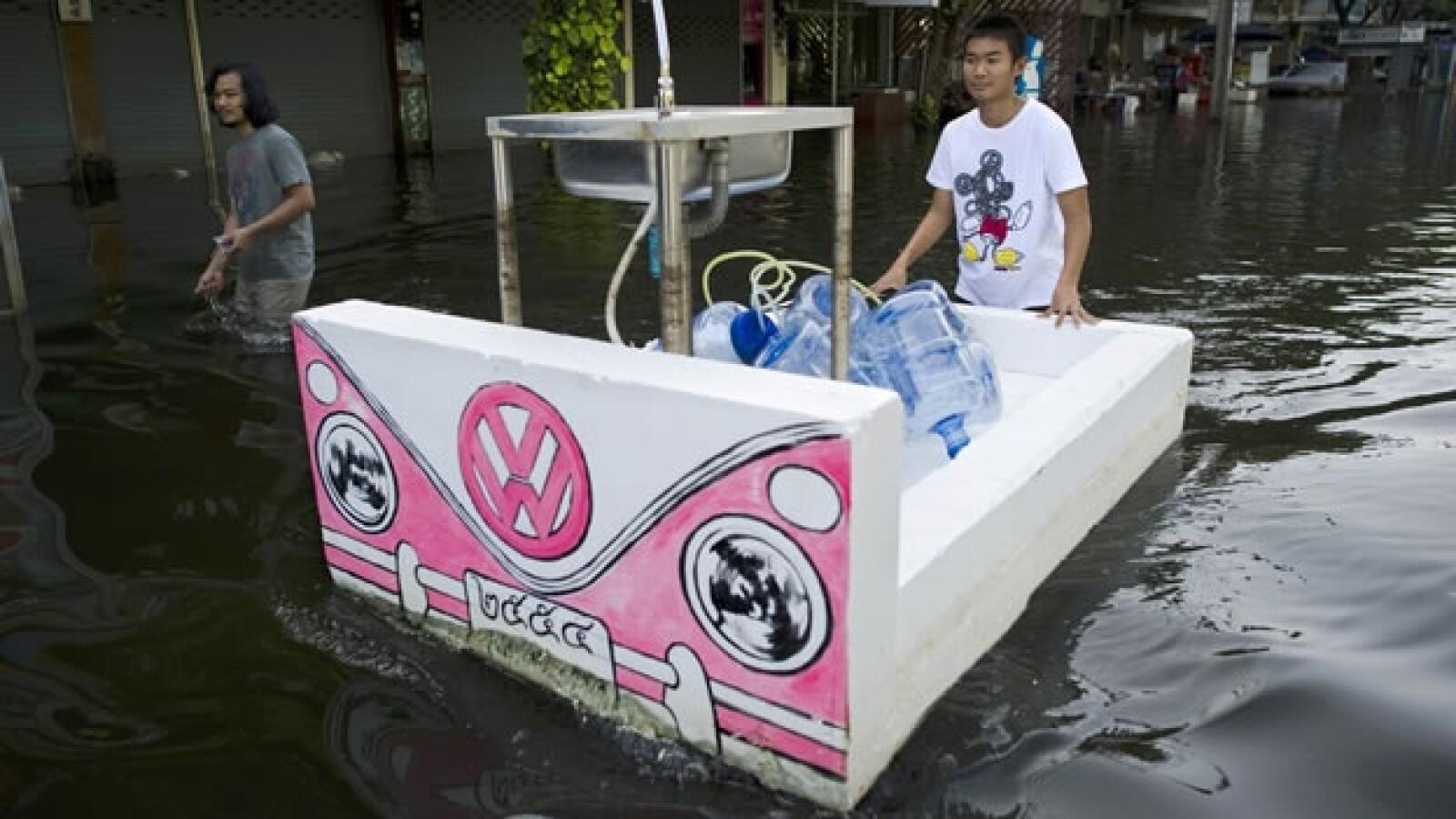 bangkok tailandia inundaciones 01