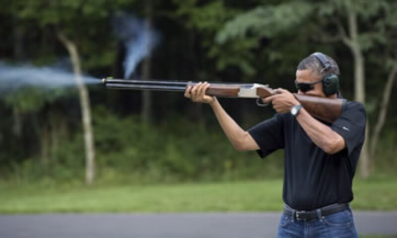 La imagen fue tomada en el lugar de retiro presidencial durante el cumpleaños 51 del mandatario. (Foto: Reuters)