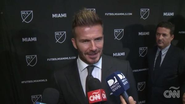 Ya es oficial: Miami tendrá su propio equipo de fútbol de la mano de Beckham