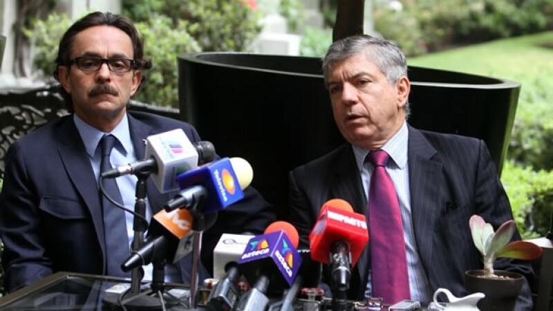 Cesar Gaviria y Gabriel Quadri se reunen