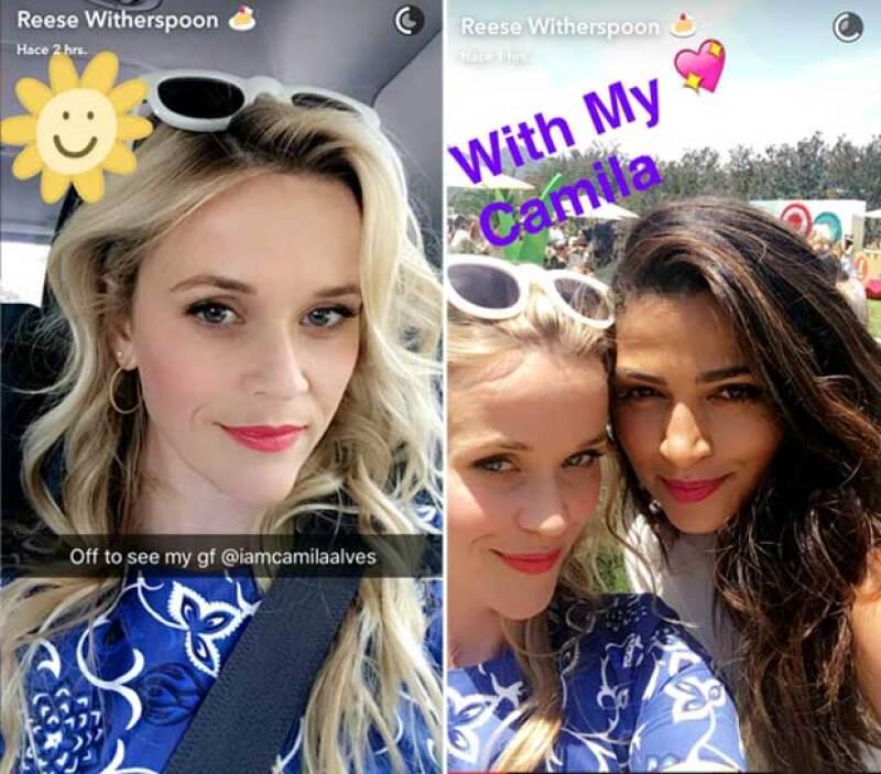 Reese asistió a este evento ya que la co-fundadora de esta empresa es una de sus grandes amigas, la esposa de Matthew McConaughey, Camila Alves.