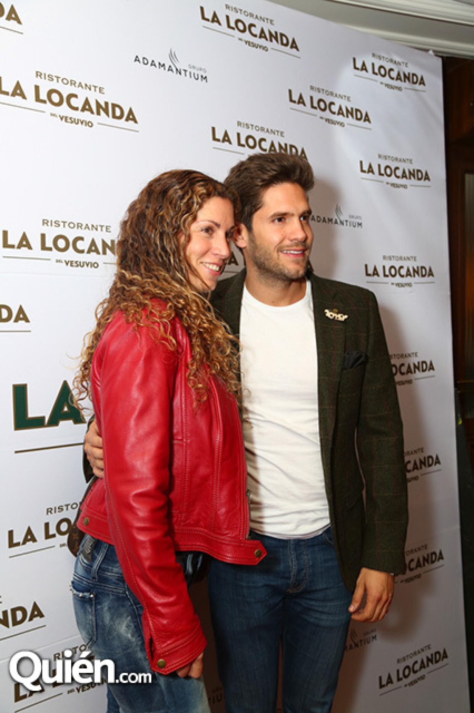 Erika Orezza y Luis Knapp