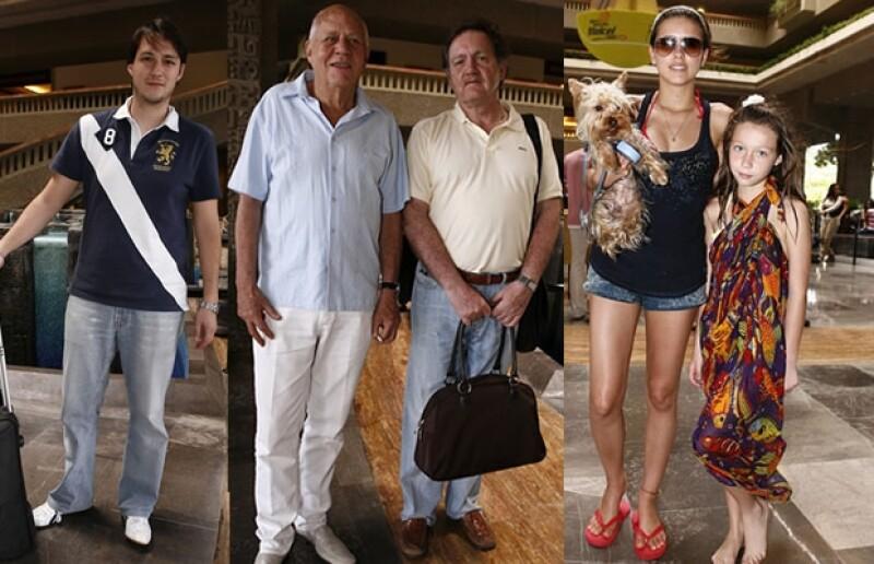 Guillermo Contreras, Gunter Maerker,Fernando González, Paulina Goto y Roberta Damián.