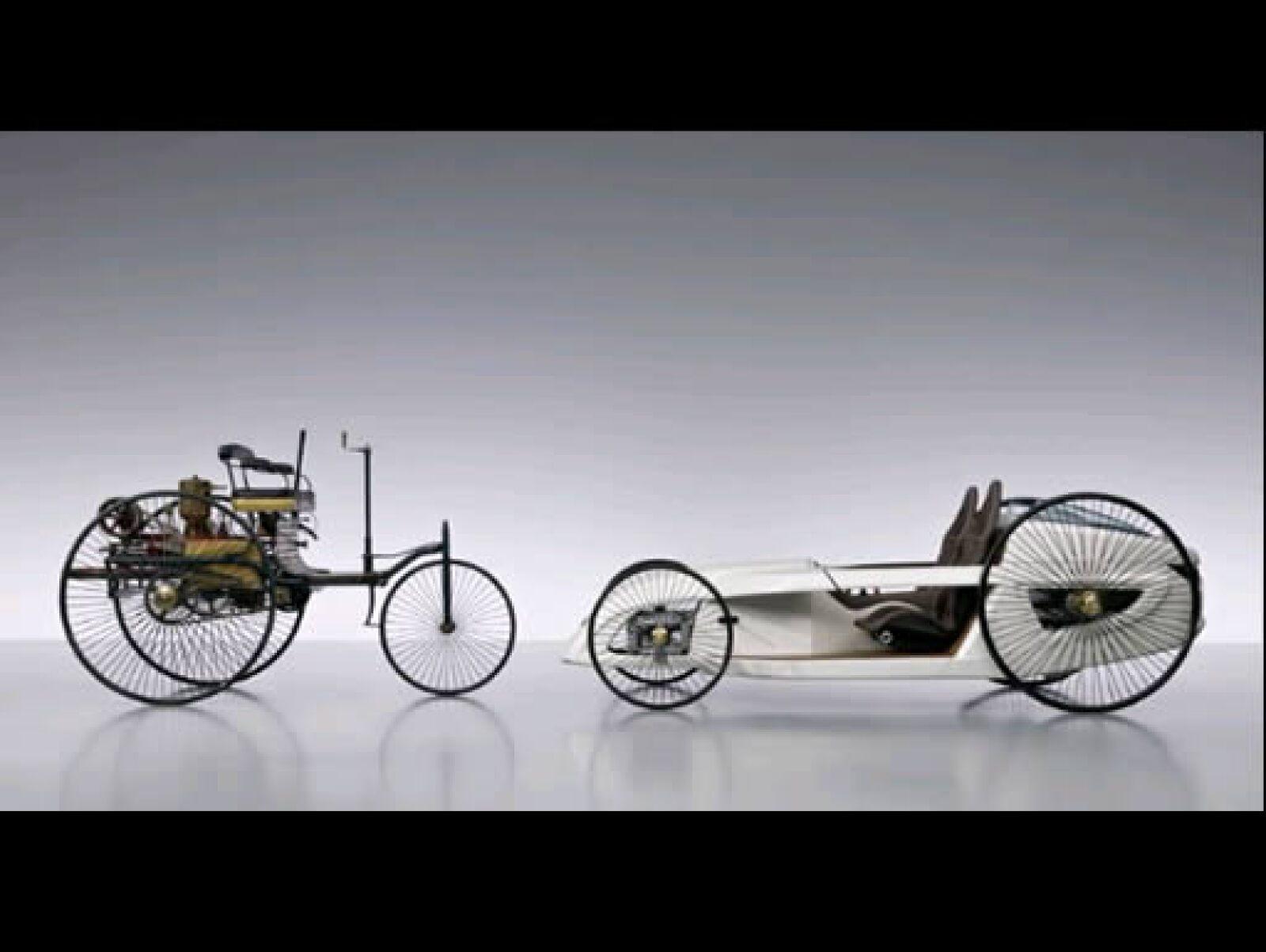 Este modelo nos remonta al inicio de Karl Benz en 1886.