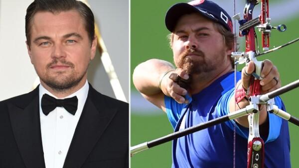 ¿Leo eres tú? Durante las Olimpiadas de Río 2016, hubo un concursante que podría ser el gemelo del actor.