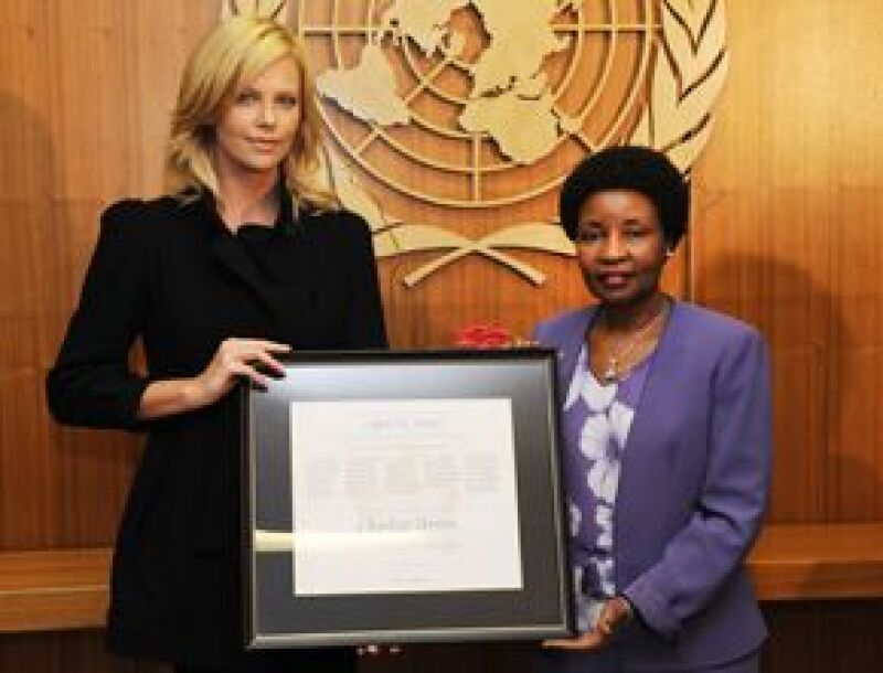 La actriz aceptó su nuevo papel ante Naciones Unidas y aseguró que la violencia doméstica es asunto que le toca directamente y no puede ignorar.