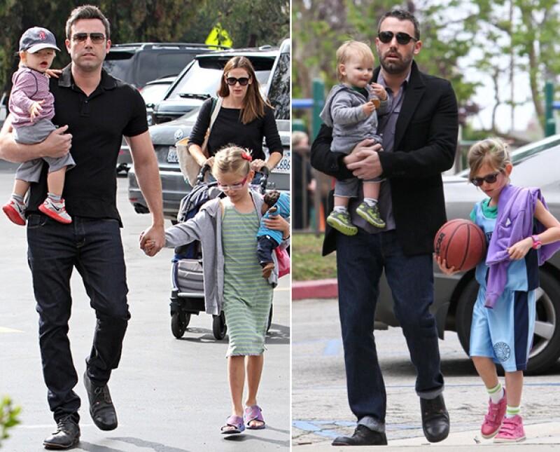 Hot daddy, Ben es un papá amoroso que siempre está al pendiente de sus hijos.