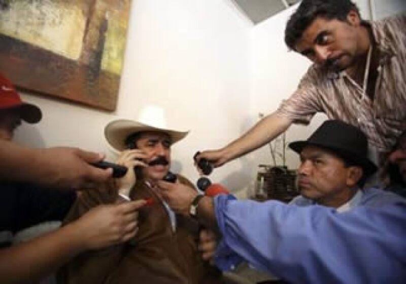 Zelaya lleva dos semanas recluido en la embajada brasileña. (Foto: Reuters)