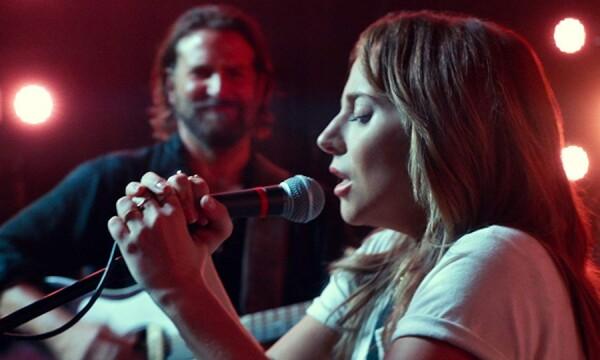Lady Gaga cantando en A Star Is Born