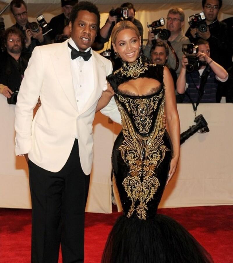 Jay-Z y Beyonce dieron la bienvenida a su primogénita este año.