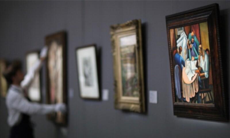 Sotheby's obtuvo 163 millones de libras por 79 piezas vendidas. (Foto: Getty Images)