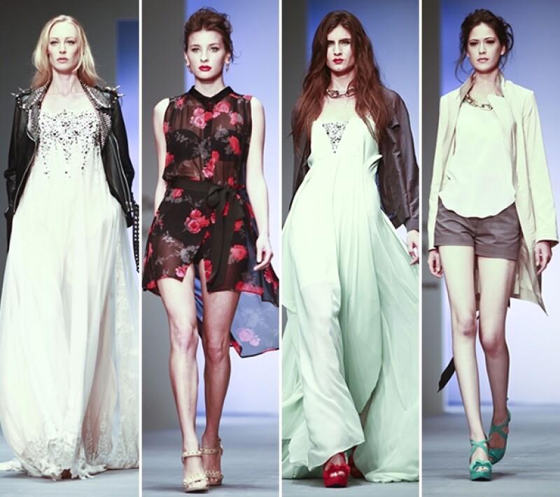 Las ganadoras de Elle México Diseña 2011 presentaron tres colecciones muy distintas, que fueron seguidas por los desfiles de Carla Fernandez, Royal Closet y Bill Keith y Haif Naime.