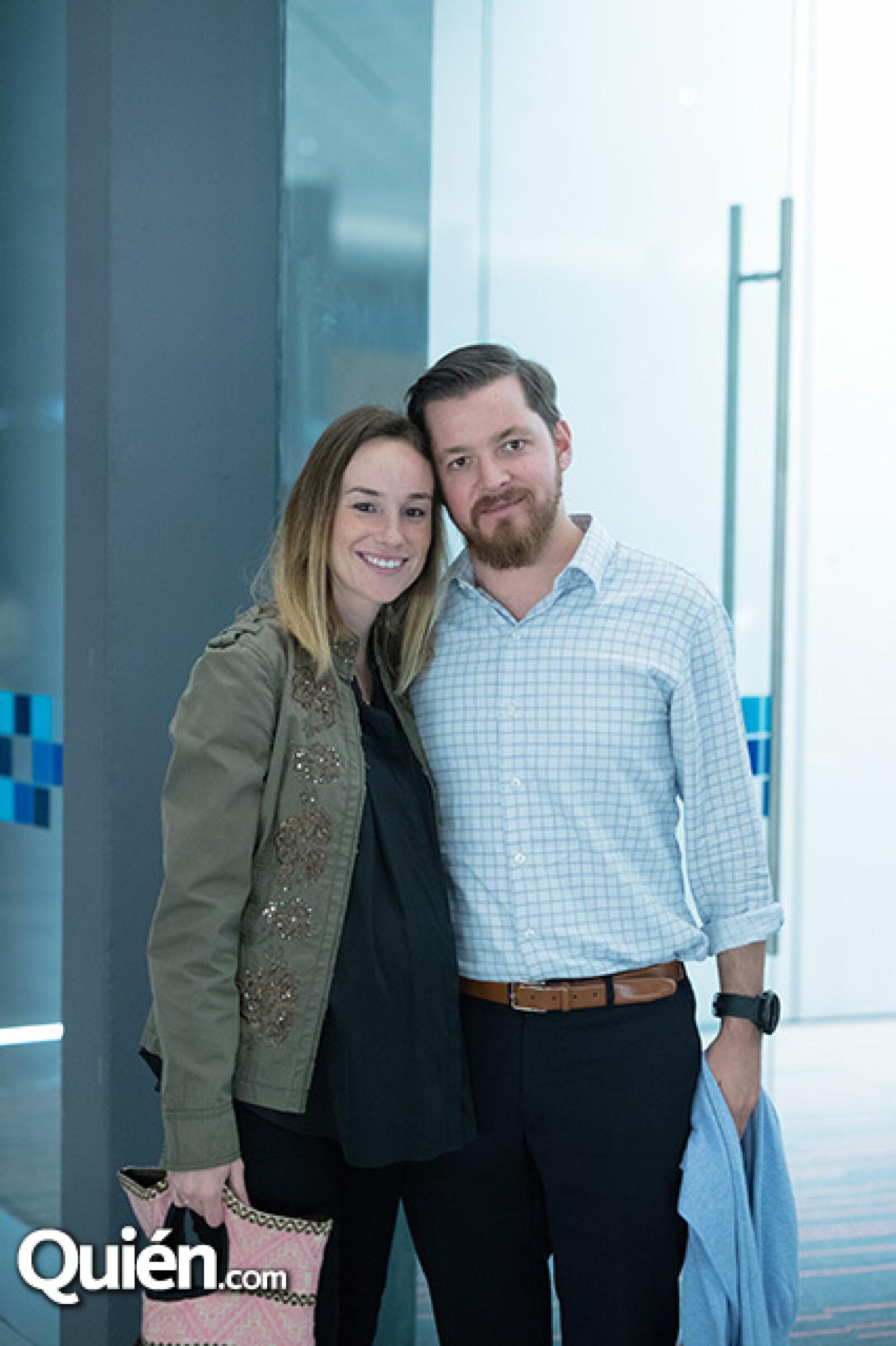 Julia Rodríguez y Federico Toca