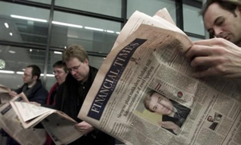 Financial Times Deutschland se convirtió en un diario nacional ampliamente respetado que se publica cinco días a la semana. (Foto: Reuters)