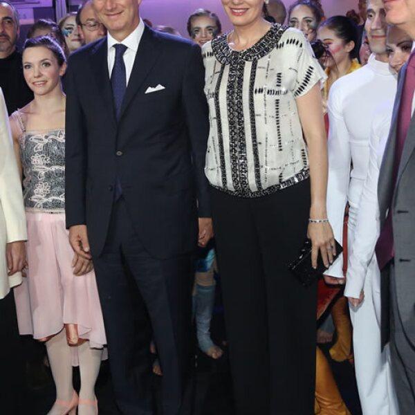 Sus hijos se llaman: Elisabeth, Gabriel, Emmanuel y Eleonore.