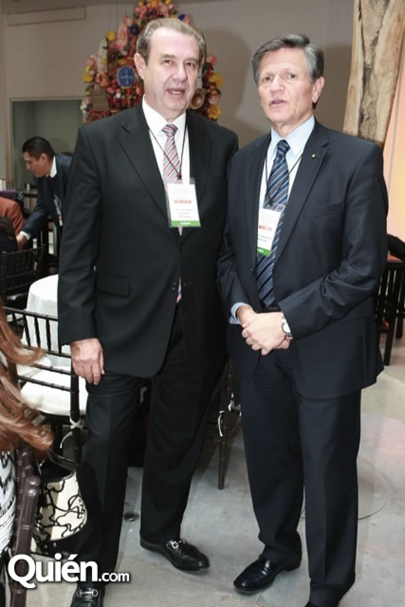 José Antonio Fernández e Isaac Chertorivski