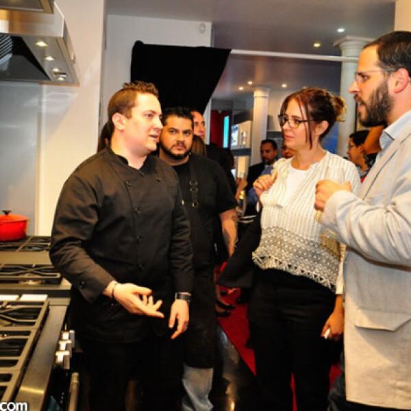 Daniel Ovadia, Melisa Porter y Miguel Hierro