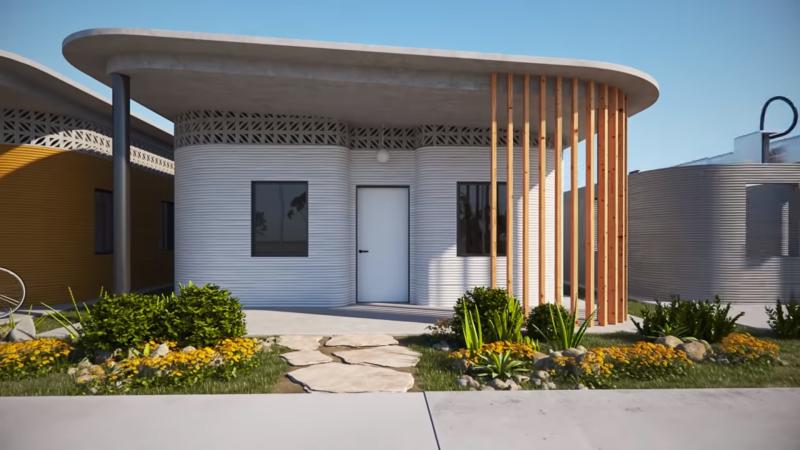 Vivienda 3D - Despacho - Arquitectura