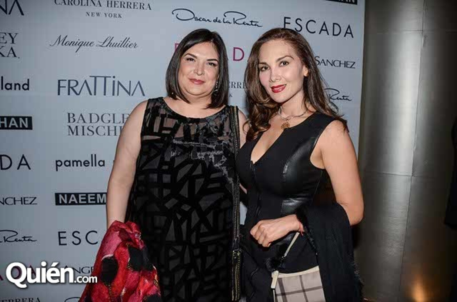 Ayeth Flores y Rocío Valenti.