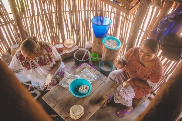 Cocina tradicional maya