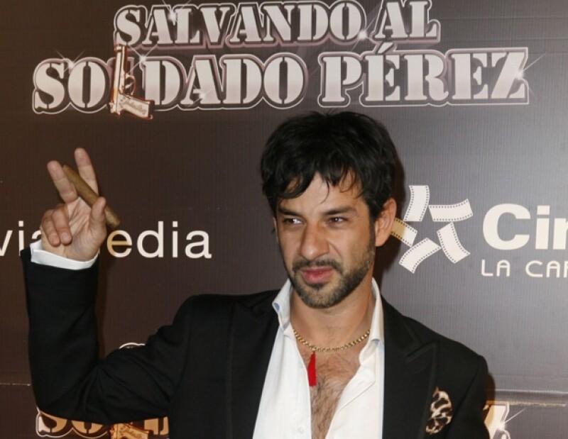 """Miguel Rodarte viajará a Estados Unidos para hacer promoción de """"Salvando al soldado Pérez""""."""