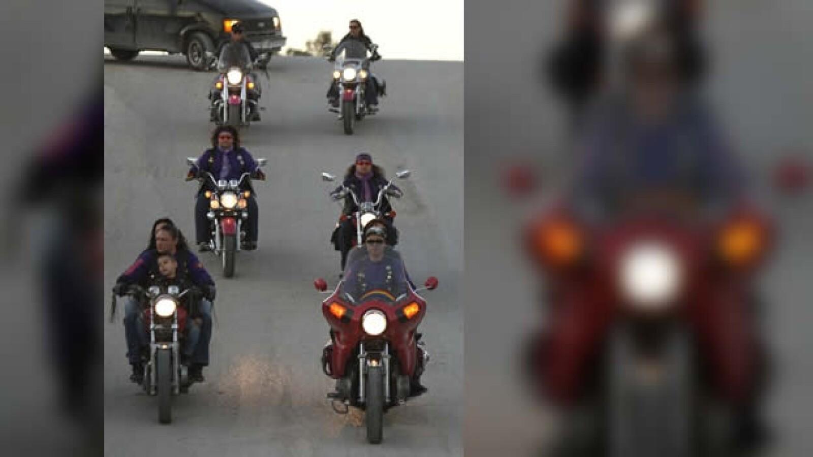 Las Guerreras motociclistas Ciudad Juarez