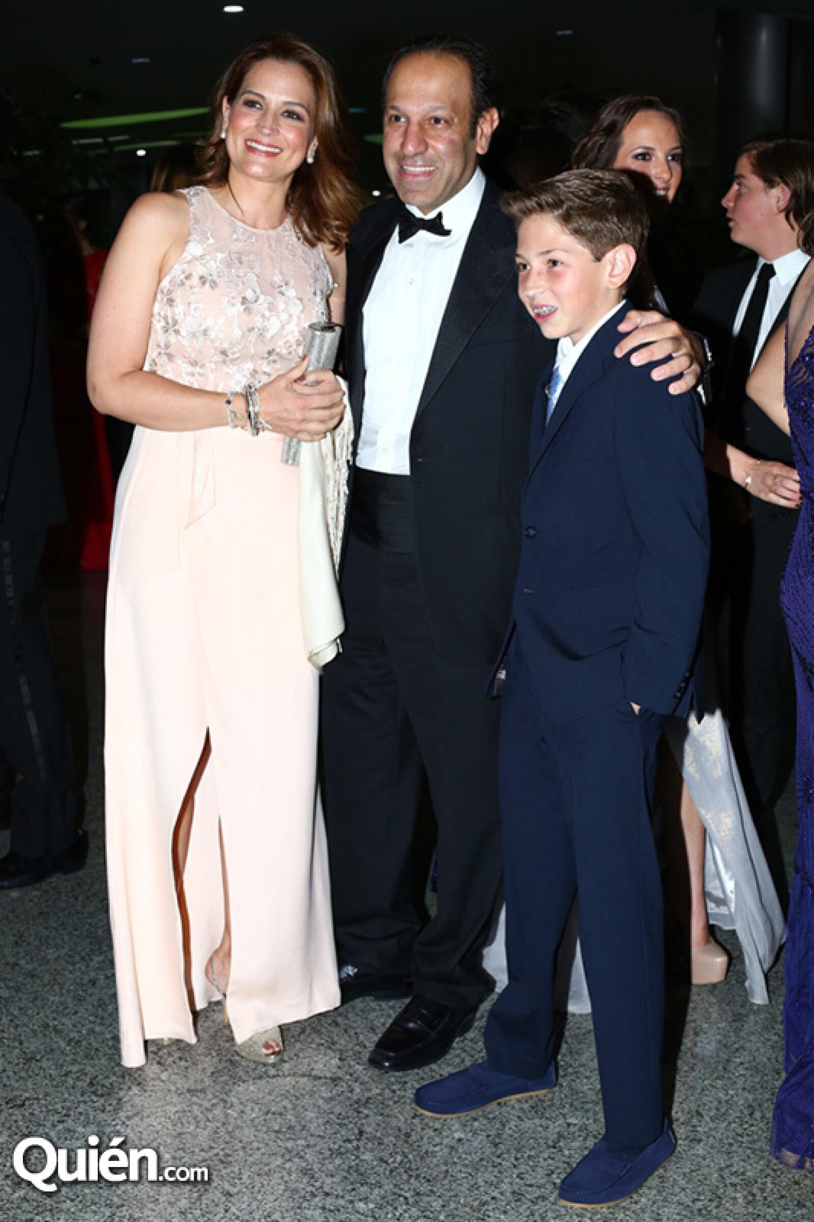 Ximena Serrano, Marco Antonio Slim y su hijo