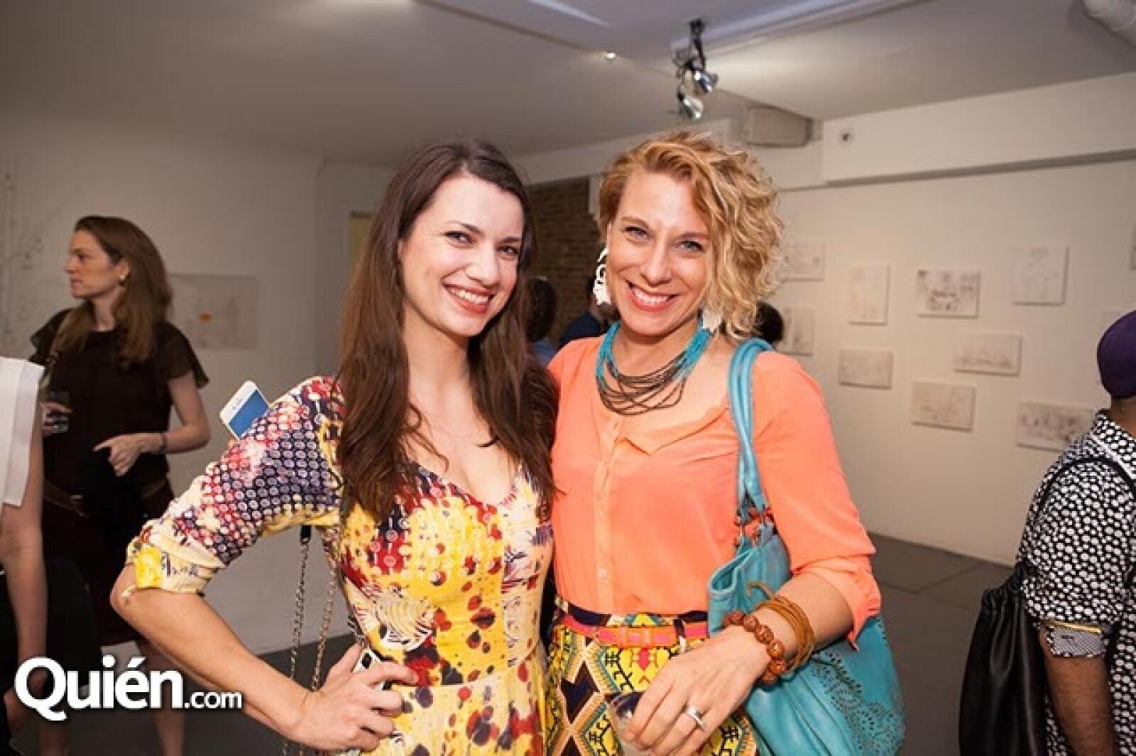Amy Spalholz y Dany Fonseca