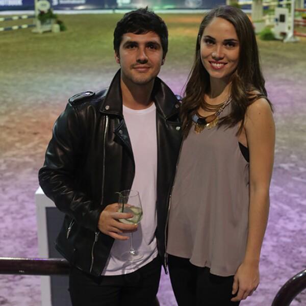 Gustavo Anaya y Sofía Ochoa